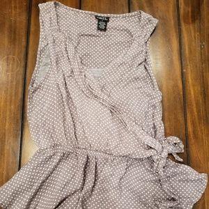 Women's Large Rue 21 wrap blouse